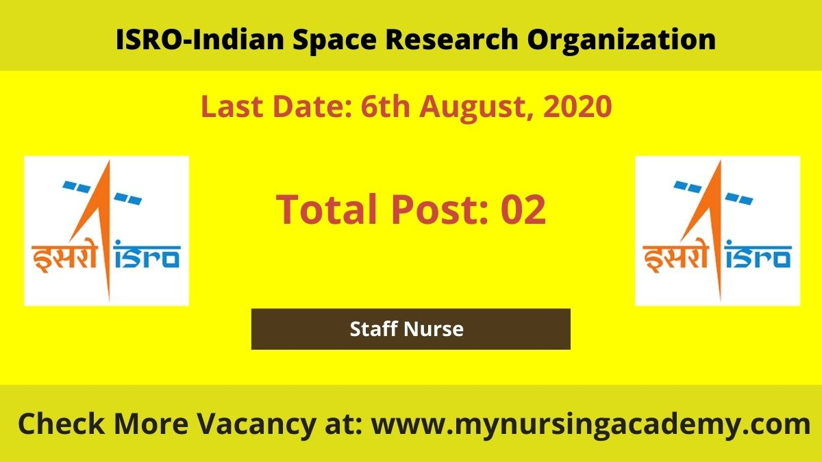SDSC Shar Staff Nurse Vacancy 2020